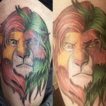 Cartoon Tattoos and Comic Tattoos